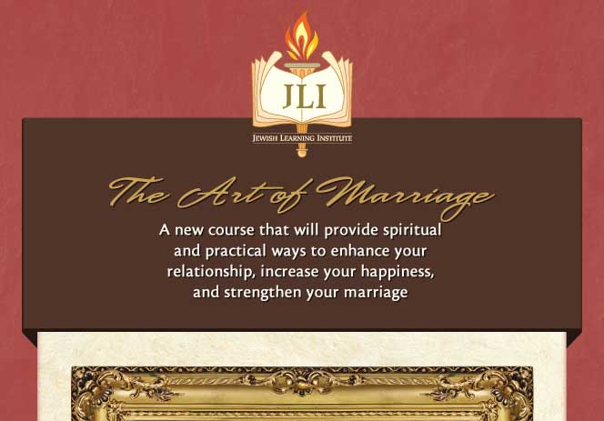 The Art of Marriage | JLI Chabad Houston Spring 2012