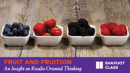 Fruits and Fruition