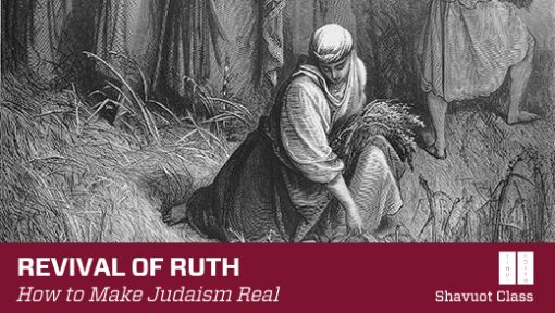 Revival of Ruth